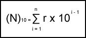 Sistem Bilangan - Bilangan Desimal