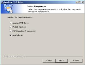 Instalasi AppServ 2.5.9