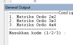 Contoh Program Hitung Determinan Matrik Ordo 2x2, 3x3 dan 4x4 Java