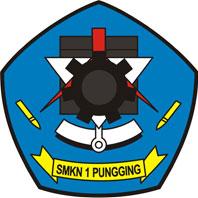 logo smk negeri 1 pungging mojokerto