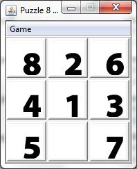 Game Puzzle 8 Blok Java