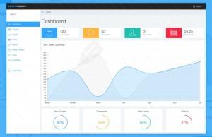 Lumino Admin Template Bootstrap #1