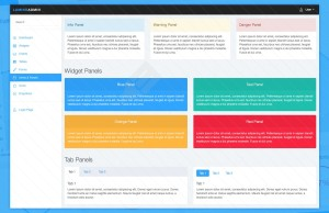 Admin Template Bootstrap #2